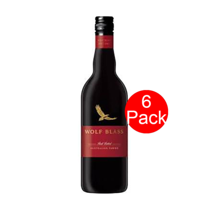 Wolf Blass Red Label Cabernet Tawny 6 Pack