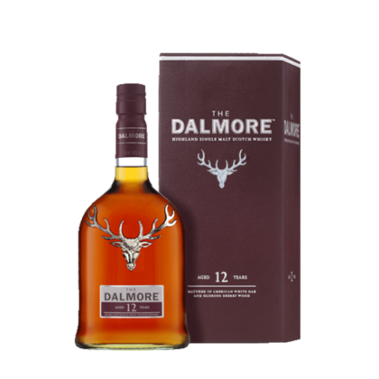 Dalmore 12 Year Old Whisky 700ml with box