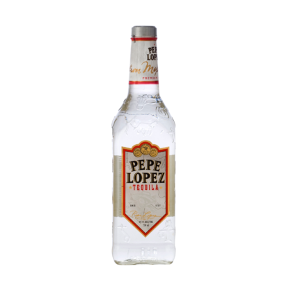 PEPE LOPEZ SILVER TEQUILA 700ML