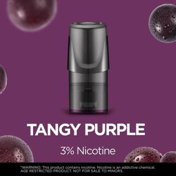 Relx Classic Pods – Tangy Purple 3 Percent Nicotine