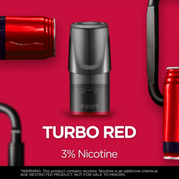 Relx Classic Pods – Turbo Red 3 Percent Nicotine