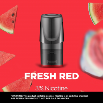 Relx Classic Pods Fresh Red 3 Percent Nicotine