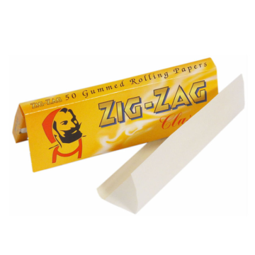 Zig Zag Rolling Paper Yellow Single Pack